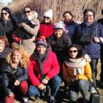 Alumnes i voluntaris de l'Oficina de Català de Vila-seca visiten la Séquia Major