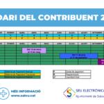 Salou posa a disposició de la ciutadania el nou calendari del contribuent 2019