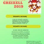 El Carnaval de Creixell es farà en dos caps de setmana diferents