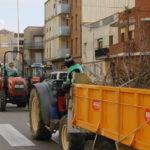 Nova tractorada dels pagesos de l'avellana de Tarragona per reclamar a l'Estat ajudes al sector