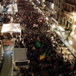 Massiva manifestació a Tarragona contra el judici al procés