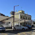 Finalitzen les actuacions de millora de l'entorn de l'estació del tren de Torredembarra