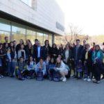 Salou dona la benvinguda a un grup d'alumnes alemanys d'intercanvi amb l'Institut Marta Mata