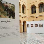 La 'Pintura a l'oli' de Moreso Farnós omple el Pati del Palaude la Diputació de Tarragona fins al 12 de maig