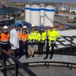 Visita del president de l'Autoritat Portuària de Tarragona a les instal·lacions de TEPSA