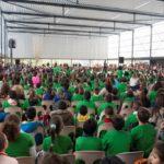 Més de 1000 alumnes i professors a la Cantada de Sant Jordi de Vila-seca