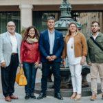 Lluís Abella presenta els cinc primers candidats de Junts x Cambrils