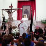 Galeria d'imatges: la processó de la Mare de Déu de la Soledat interrompuda per la pluja