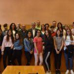 Alumnes de l'Institut Ramon de la Torre expliquen la seva experiència en un projecte Erasmus+
