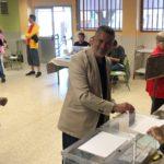 Pau Ricomà: 'Avui hem pogut votar'