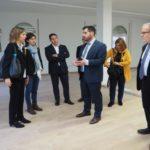 Reunió de treball de l'alcalde amb la consellera d'Empresa i Coneixement