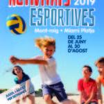 Montroig obre les inscripcions per a les activitats esportives d'estiu