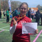 L'arquera Maria Pitarch aconsegueix la medalla de plata en el Campionat d'Espanya universitari
