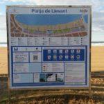 Salou continua amb els treballs de manteniment i millora de les platges del municipi