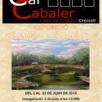 Creixell presenta l'exposició de pintura «Homenatge a Santiago Rusiñol»