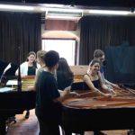 El Conservatori de Música de Tarragona estrena una obra per a piano a 16 mans de Raquel García-Tomás