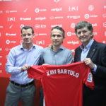 El Nàstic presenta al nou entrenador Xavi Bartolo