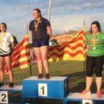 Tres medalles d'or per a l'atleta Montserrat Montañés i Arbó al Catalunya sub-20 i sub-23