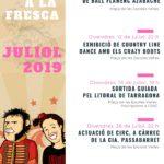 """Torna el cicle """"Estiu a la Fresca"""" per animar les nits de juliol a Constantí"""