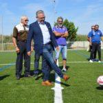Salou estrena el nou camp de futbol 7, vestidors i marquesina