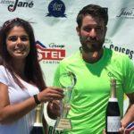 Maria José Luque i Jordi Muñoz del CTBarà, guanyadors de l'Open Nacional IBP Tennis