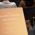 Publicat un nou llibre amb poemes inèdits d'Antoni Rovira i Virgili, «La collita darrera»