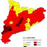Agricultura alerta de l'alt risc d'incendi a partir de dimarts