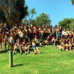 Més de 40 joves de la zona TRAC participen en la sortida a l'Aquopolis