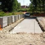 Comença la construcció de la passera sobre el riu Francolí a Constantí