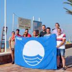 Les banderes blaves onegen ja a les platges Llarga i Costa Daurada de Roda de Berà