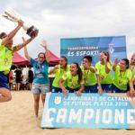 El Roses Platja femení, campió de Catalunya en una final vibrant