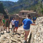 Una vintena de joves d'arreu de Catalunya participa en un camp de treball a la Masia de Castelló