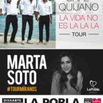 La Pobla ultima els detalls per al concert solidari d'estiu amb Café Quijano i Marta Soto