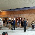 Diverses entitats visiten les obres al Casal Municipal La Violeta