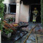Un incendi de matinada acaba amb la planta baixa d'una casa d'Altafulla