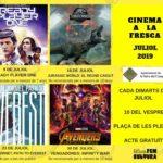 La Selva presenta les pel·lícules de juliol del Cinema a la fresca