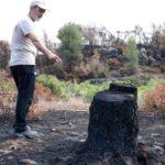Un desbrossament fet per ecologistes que va frenar l'incendi de l'Ebre posa en evidència la manca de gestió forestal