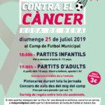 Roda de Berà celebrarà la tretzena edició de 'Futbol contra el càncer'