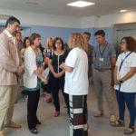 La consellera de Salut i l'alcaldessa visiten l'Hospital Lleuger Antoni de Gimbernat de Cambrils