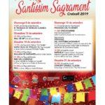 Creixell es prepara per celebrar la festa major del Santíssim Sagrament
