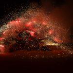 El Ball de Diables posa el fermall d'or a les festes de Roda de Berà