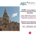 Xerrada per divulgar l'obra de l'arquitecte Jujol al Camp de Tarragona