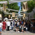 La desena edició de la Fira d'Indians de Torredembarra tanca amb prop de 8.000 visitants