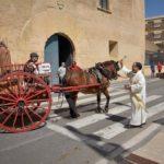 La Canonja celebra els Tres Tombs amb més d'un centenar de cavalls