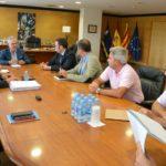 Pere Granados es reuneix amb directius d'Adif i INECO per parlar sobre el Corredor del Mediterrani