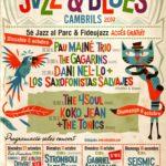 Dani Nel·lo & Los Saxofonistas Salvajes i Koko Jean & The Tonics, plats forts de la Mostra de Jazz i Blues de Cambrils