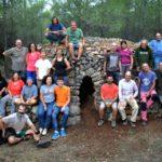 El GEPEC restaura una altra barraca de pedra seca a Mont-roig