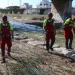 Els Bombers centren la recerca dels desapareguts als llocs on s'han detectat indicis