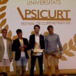 Dos estudiants de la URV guanyen el premi Educurt Exprés Universitari del festival Psicurt