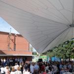 La Pobla estrena la nova carpa permanent dels jardins del Pavelló
